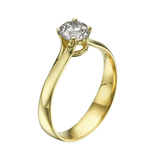 Engagement Rings yellow gold