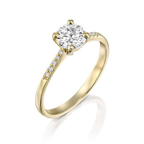 Andrea Lab Grown Diamond Engagement Ring - main