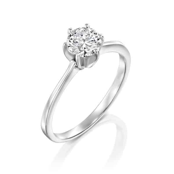 Shannon - White Gold Lab Grown Diamond Engagement Ring 0.41ct. - main