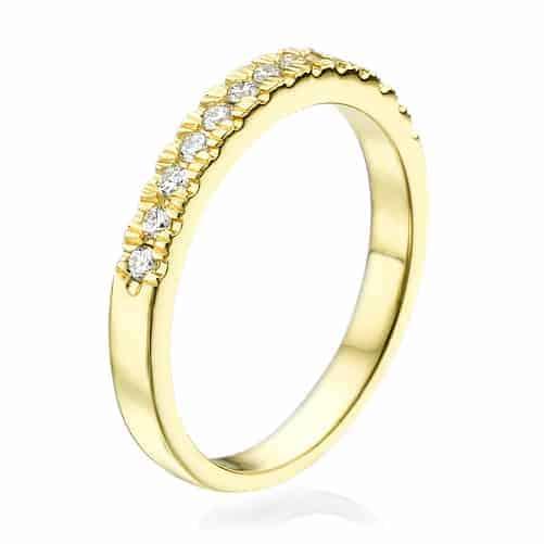 """Aline"" - Lab Grown Diamond Ring 0.35ct."