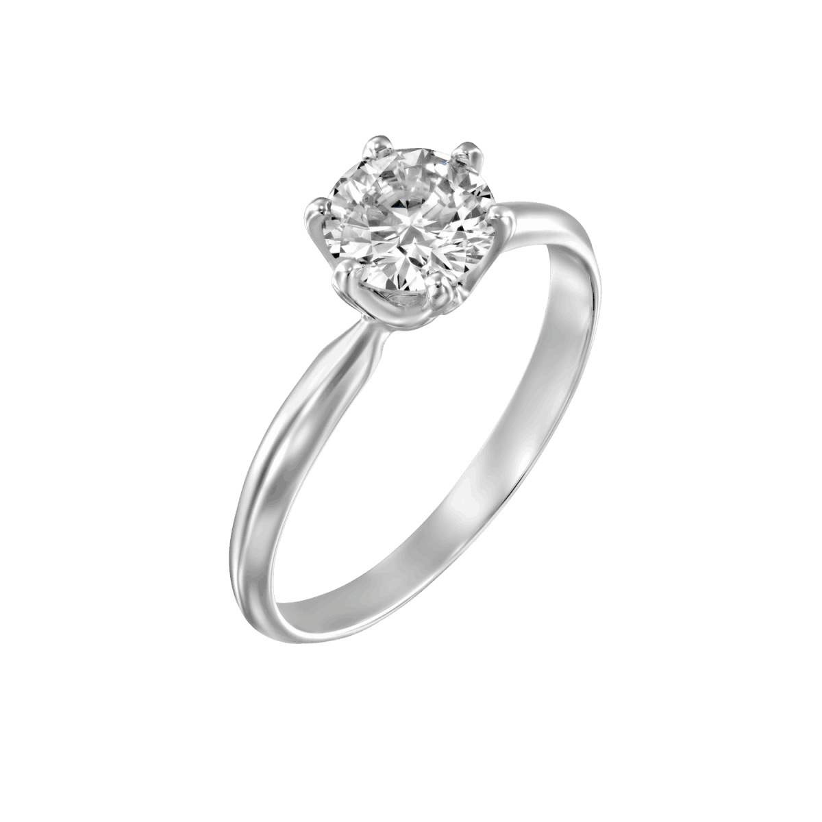 """""""Claire"""" - White Gold Lab Grown Diamond Engagement Ring 0.75ct. - main"""