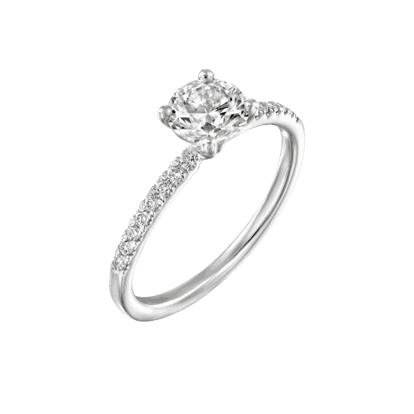 """Carol"" - White Gold Lab Grown Diamond Engagement Ring 0.70ct. - main"