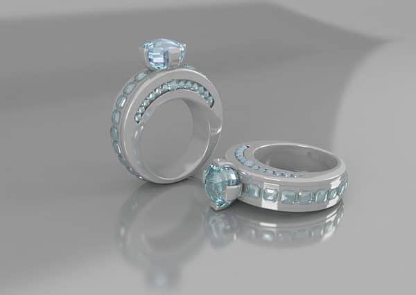 diamond ring shine