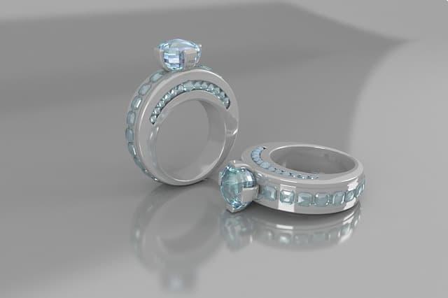 Labratory diamond ring