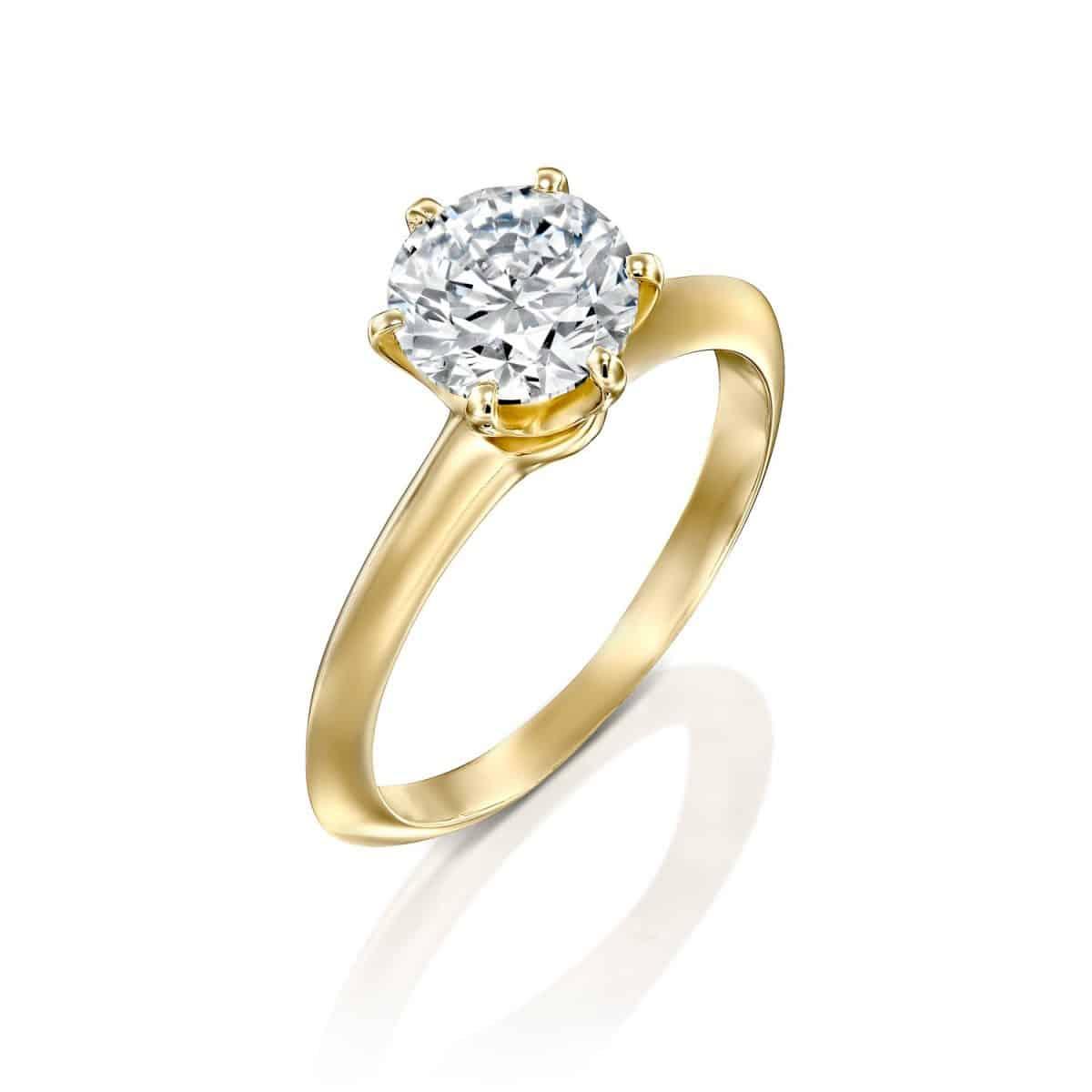 1.51 carat Helen engagement ring