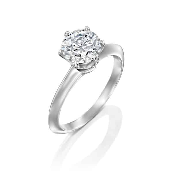 1.51 carat Helen engagement ring