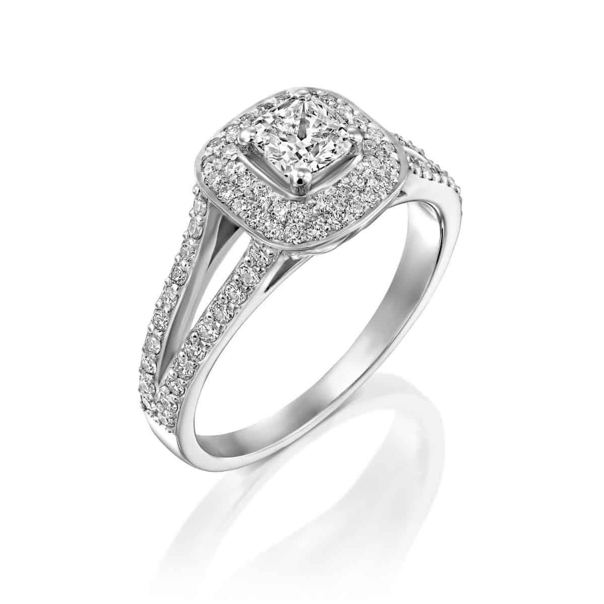 "1.41 carat diamond engagement ring ""Alexis"""