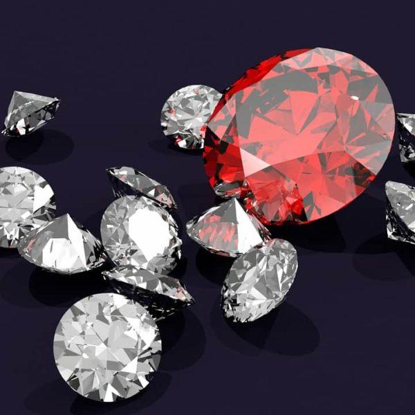 white and red diamonds