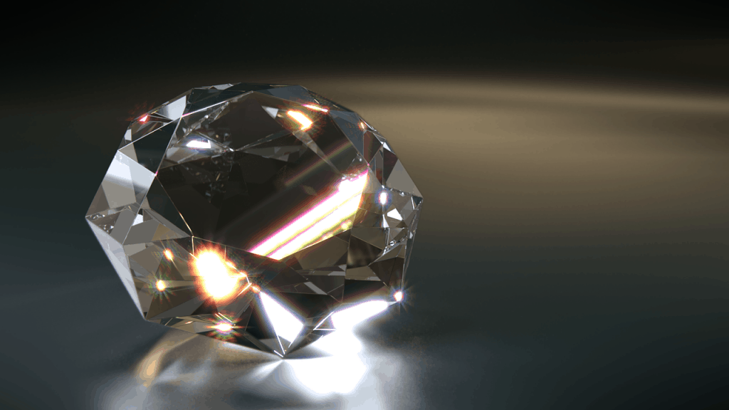 big shiny diamond