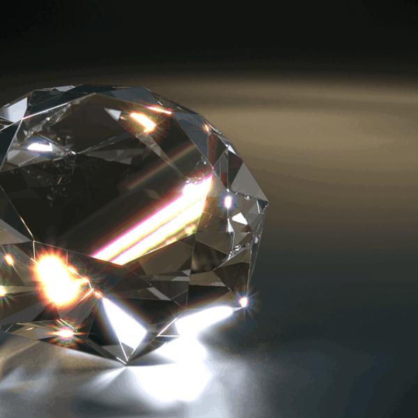 big shiny diamond