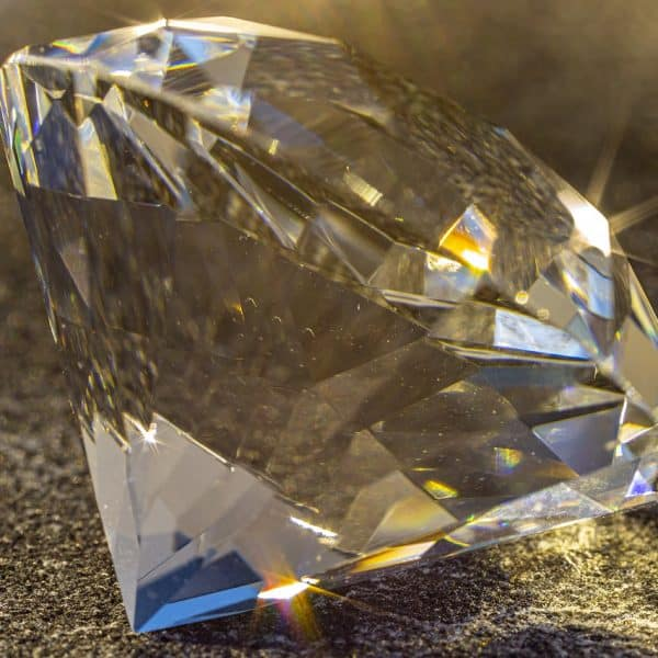 shiny diamond blue tip